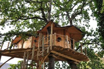 Holiday in unusual accomodations