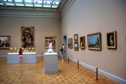 The picture represents a museum